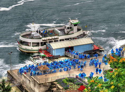 Maid of the Mist by Cindy Haggerty