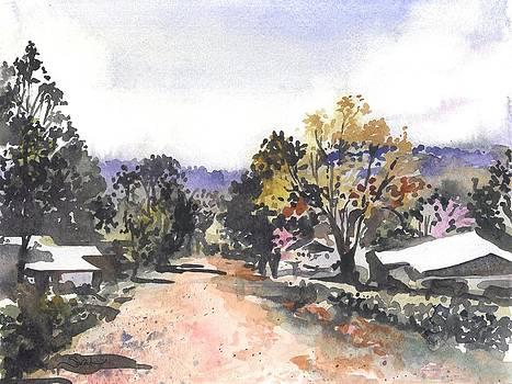 Main Street Ukarumpa by Sarah Kovin Snyder
