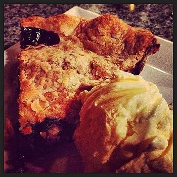 #maine #blueberry #pie For #dessert by Megan Rudman