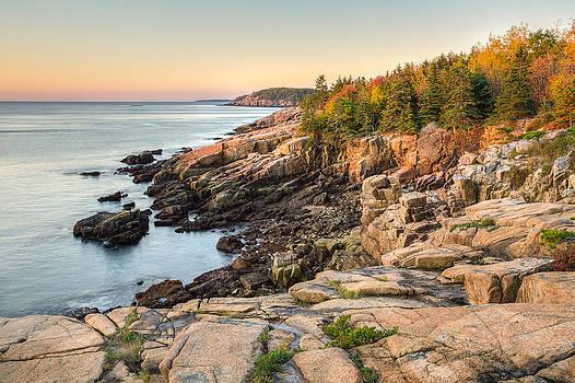 Maine Coastal Photograph - Acadia National Park by Bill Swindaman
