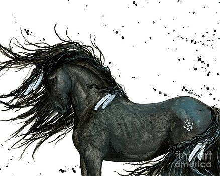 Majestic Friesian Horse 112 by AmyLyn Bihrle