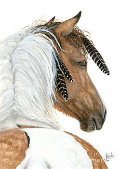 Majestic Curly Horse by AmyLyn Bihrle