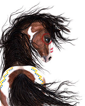 Majestic Horse Two Feather by AmyLyn Bihrle