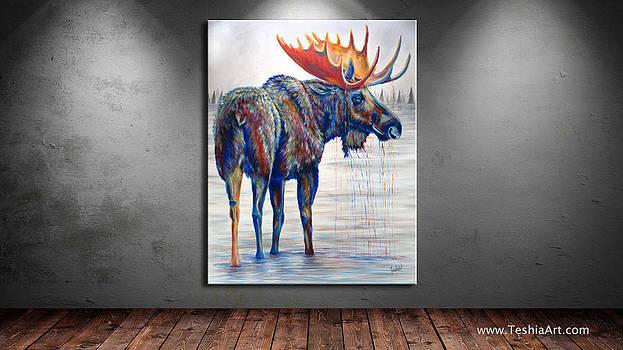 Teshia Art - Majestic Moose DISPLAY IMAGE ONLY