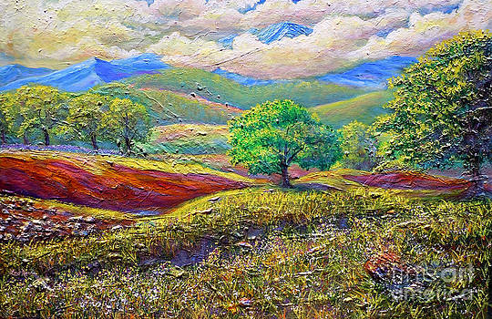Majestic View Of The Blue Ridge After A Storm by Lee Nixon