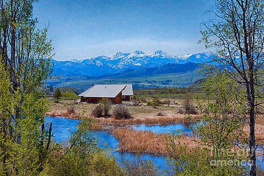 Omaste Witkowski - Majestic Views Of Mt Gardner Landscape Art by Omaste Witkowski
