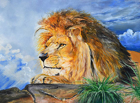 Majesty  King Of The Mountain by Alvin Hepler