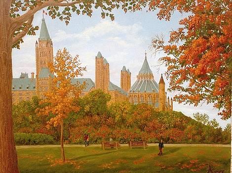 Major Hill's Park by Darlene Agner