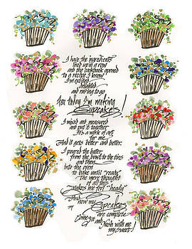 Making Cupcakes by Darlene Flood