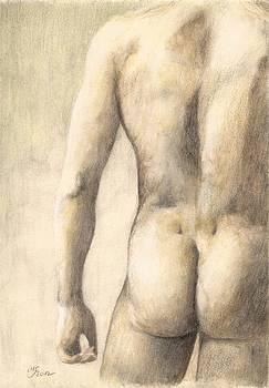 Male Nude 25 by Milena Gawlik