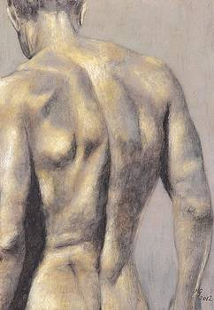 Male Nude 39 by Milena Gawlik
