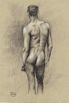 Male Nude 49 by Milena Gawlik