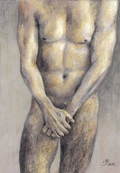 Male Nude II by Milena Gawlik