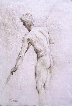 Male Nude by Milena Gawlik