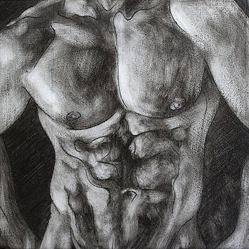 Male Torso I by Rudy Nagel