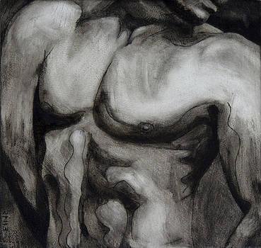 Male Torso III by Rudy Nagel