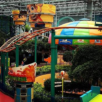 Mall Of America In Bloomington, Mn by Nadine Rippelmeyer