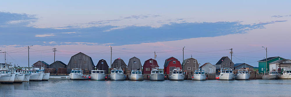 Malpeque Harbour Panorama by Matt Dobson