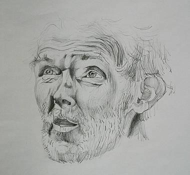 Man 2 by Adina Bubulina