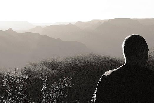 Arkady Kunysz - Man at Grand Canyon