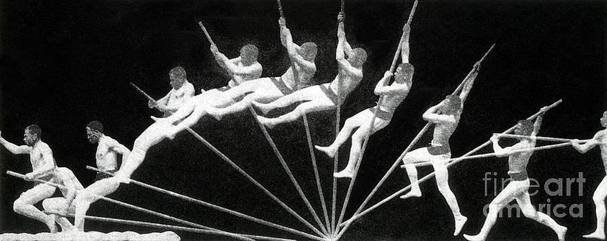 NYPL - Man Pole Vaulting 1884