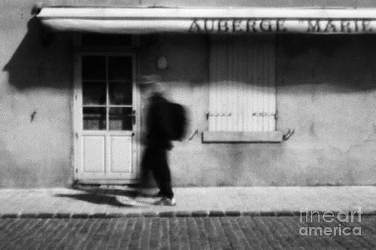 Man Walking by Jochen Schoenfeld