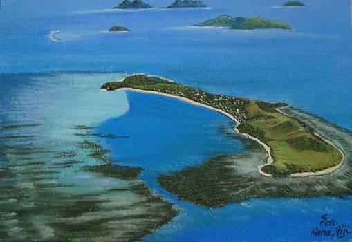 Mana Island by Pravin  Sen
