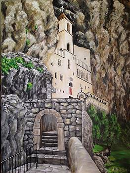 Manastir Ostrog by Marija Ristovic