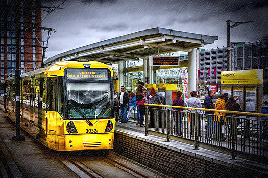 Manchester Tram by Andrew Barker