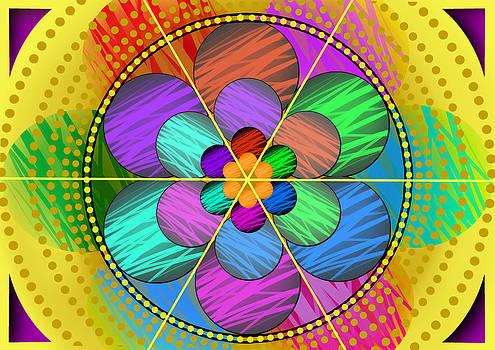 Mandala 1 by Nelson Barros