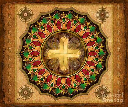 Bedros Awak - Mandala Illuminated Cross sp