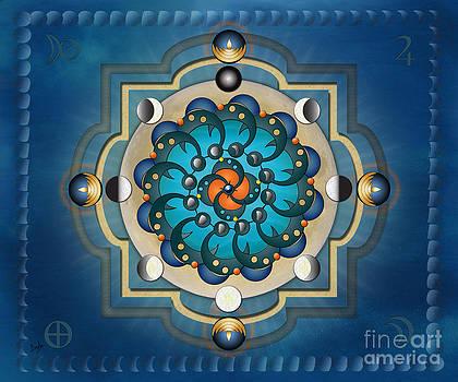 Bedros Awak - Mandala Moon Phases - sp