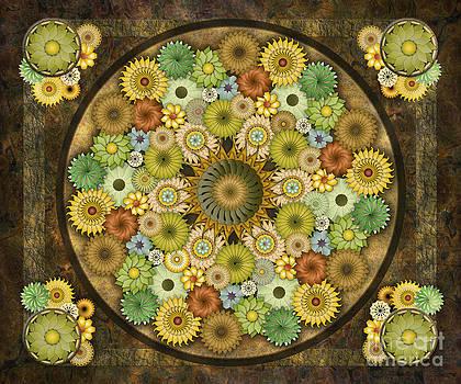 Bedros Awak - Mandala Stone Flowers sp