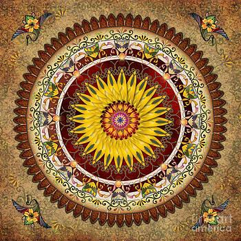 Bedros Awak - Mandala Sunflower