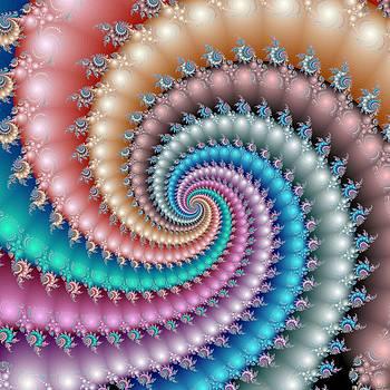 Mandelbrot Fractal Spyral by Svetlana Nikolova