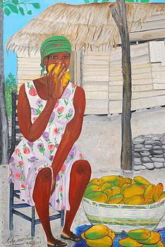Mango Merchant Woman by Nicole Jean-Louis