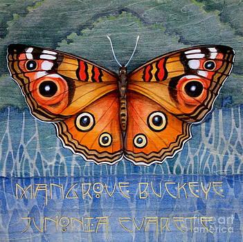 Mangrove Buckeye Butterfly by Teri Tompkins
