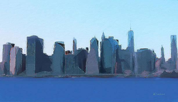 Manhattan 2014 by David Klaboe