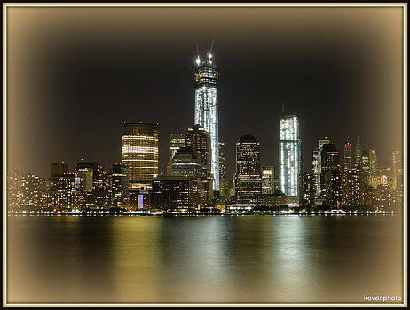 Manhattan  by David Kovac