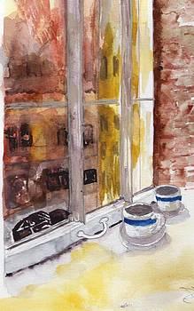 Manhattan Morning by Sandi Stonebraker