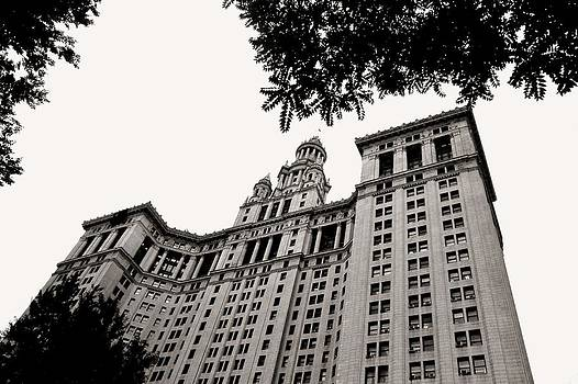 Manhattan Municipal Building by Liza Dey