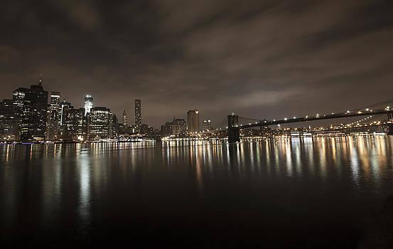Manhattan Night View 2 by Boris Blyumberg