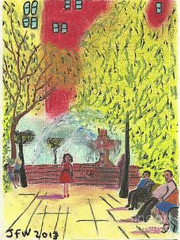 Manhattan Park 1 by John Williams