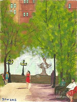 Manhattan Park 2 by John Williams