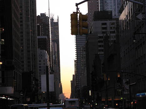 Manhattan Street by C Howell