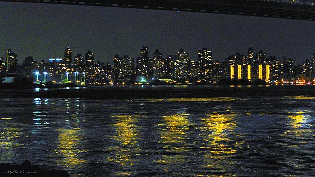 Manhattan viewed from Queens by Mikki Cucuzzo