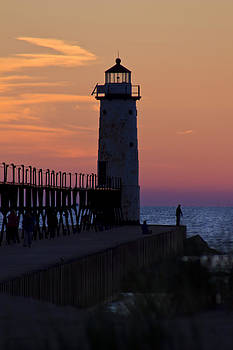 Manistee Lighthouse by Megan Noble