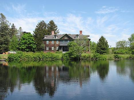 Mansion at Connetquot by Neal David Reilly