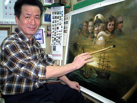 Map captain jobs figure by Yoo Choong Yeul