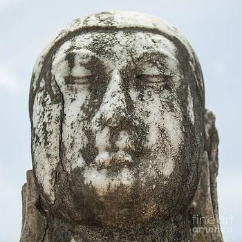 Patricia Hofmeester - Marble buddha head